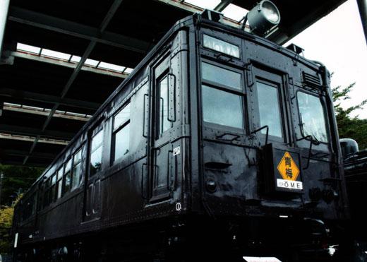 懐かしの茶色い電車