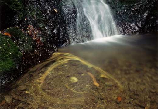 渦流の綾広滝