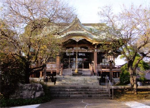 秋の神明社