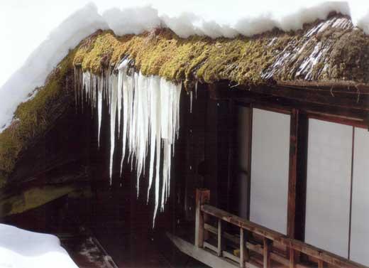 御岳馬場家のある冬