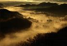 第15回 最優秀賞 朝靄にけむる日の出町