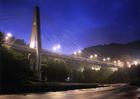第15回 大多摩ハム賞 暮れる奥多摩大橋