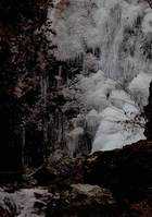 第4回 入選 払沢の滝(全面凍結)