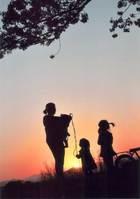 第10回 審査員特別賞(富士フイルム賞) 夕陽の中の戯れ