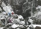 第10回 入選 雪の払沢の滝