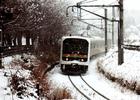 第11回 拝島駅長賞 降雪のローカル線