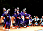第11回 大多摩ハム賞 女装で踊る(無形文化財 鹿島踊り)
