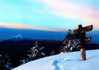 第12回 大多摩ハム賞 東京都最高峰雲取山より富士を仰ぐ